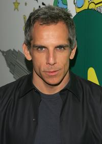Ben Stiller at the MTV's Total Request Live.