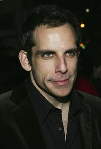 Ben Stiller at the opening night after party of
