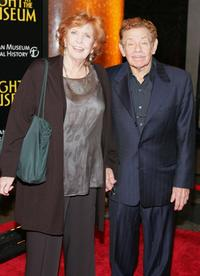 Anne Meara and Jerry Stiller at the world premiere of