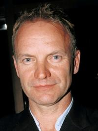 An undated file photo of Sting.