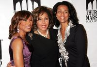 Diahann Carroll, her daughter Suzanne Kay and Angela Bassett at the Thurgood Marshall Scholarship Funds annual dinner at the Sheraton New York Hotel.