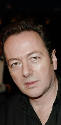 Joe Strummer at the premiere of