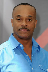 Rocky Carroll at the photocall of