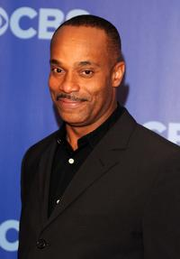 Rocky Carroll at the 2010 CBS UpFront.