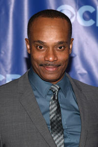 Rocky Carroll at the 2011 CBS Upfront in New York.