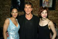 Reva Rice, Patrick Swayze and Bianca Marroquin at the after party of the premiere of