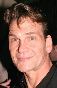 Patrick Swayze at the after party for premiere of