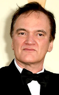 Quentin Tarantino at the premiere of