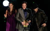 Quentin Tarantino, Robert Rodriguez and Rosario Dawson at the Spike TV's