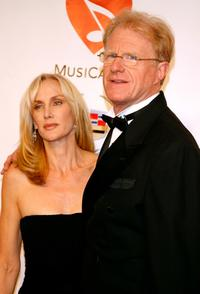 Rachelle Carson and Ed Begley Jr. at the 2007 MusiCares Person of the Year honoring Don Henley.