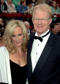 Rachelle Carson and Ed Begley Jr. at the 79th Annual Academy Awards.