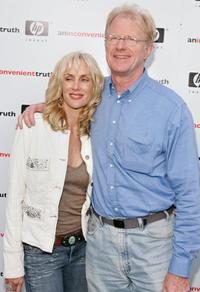 Rachelle Carson and Ed Begley Jr. at the Los Angeles premiere of