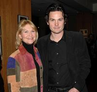 Henry Thomas and Dee Wallace at the Academy of Motion Picture Arts and Sciences screening of