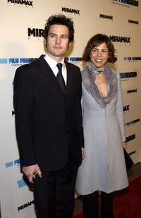 Henry Thomas and his wife Kelly Hill at the premiere of