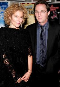 Amy Irving and Richard Thomas at the Primary Stages Gala benefit dinner honoring Tony Awards.