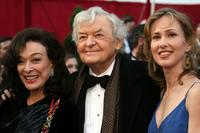 Dixie Carter, Hal Holbrook and Guest at the 80th Annual Academy Awards.