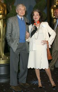 Hal Holbrook and Dixie Carter at the nominees luncheon.
