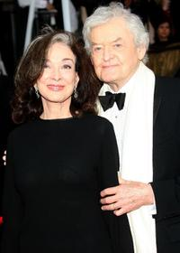 Dixie Carter and Hal Holbrook at the 14th Annual Screen Actors Guild Awards.