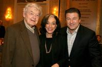 Hal Holbrook, Dixie Carter and Alec Baldwin at the 8th Annual AFI Awards cocktail reception.
