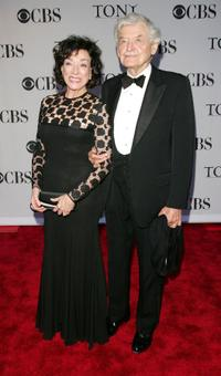 Dixie Carter and Hal Holbrook at the 60th Annual Tony Awards.