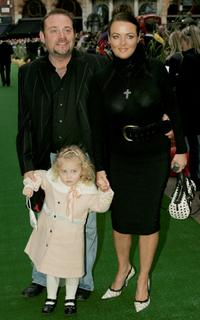 John Thomson, Wife and Child at the UK Charity premiere of