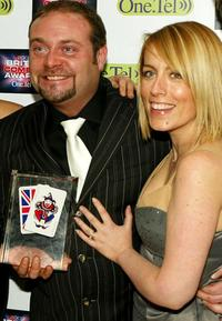John Thomson and Fay Ripley at the British Comedy Awards 2003.