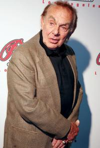 Jack Carter at the Peterson Automotive Museum's 2005 Cars and Stars Gala.