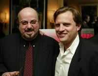 James Toback and Michael Mailer at the lunch by Miramax for the movie