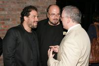 James Toback, Brett Ratner and James Shamus at the after party for the premiere of