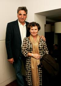 Jim Carter and Imelda Staunton at the London screening of