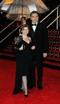 Imelda Staunton and Jim Carter at the Orange British Academy Film Awards.