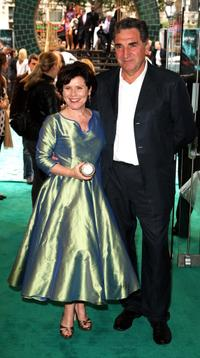 Imelda Staunton and Jim Carter at the London screening of