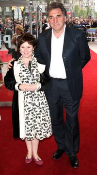 Jim Carter and Imelda Staunton at the world charity premiere of