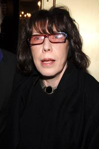 Lily Tomlin at the Robert Altman Memorial.