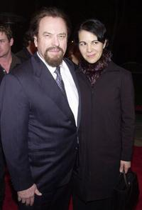Rip Torn and his wife Donna at the Los Angeles premiere