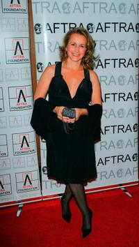 Gabrielle Carteris at the 2009 AFTRA (American Federation of Television and Radio Artists) Media and Entertainment Excellence Awards.
