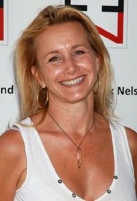Gabrielle Carteris at the AFTRA's Inaugural Frank Nelson Fund Celebrity Golf Classic.