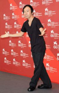 Shinya Tsukamoto at the photocall of