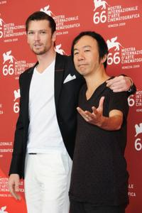 Eric Bossick and Shinya Tsukamoto at the photocall of