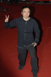 Shinya Tsukamoto at the premiere of
