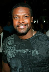 Chris Tucker at a Las Vegas press event for