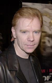 David Caruso at the premiere of his new film