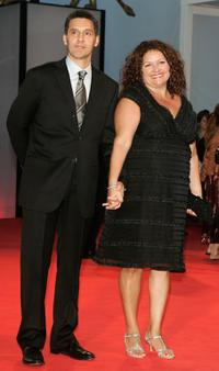 John Turturro and his cousin Aida Turturro at the 62nd Venice Film Festival for the premiere of