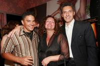 John Turturro, Nicholas Turturro and Aida Turturro at the screening of