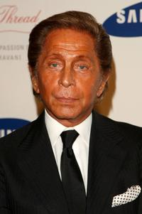 Valentino at the Samsung Electronics launch of the Samsung Imagination Icon Series.