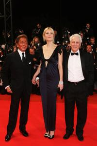 Valentino, Gwyneth Paltrow and Moshonov Moni at the premiere of