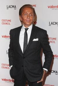 Valentino at the Los Angeles premiere of