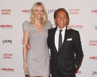 Gwyneth Paltrow and Valentino at the Los Angeles premiere of