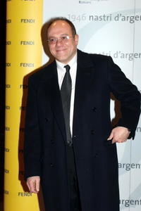 Carlo Verdone at the Nastri D'Argento Ceremony.