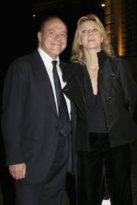 Carlo Verdone and Margherita Buy at the Patricia McQueeney Award Dinner Party during the Rome Film Festival (Festa Internazionale di Roma).